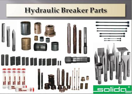 Hydraulic Breakers & Rock Hammers Spare Parts   Salem